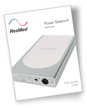 ResMed Power Station II User Guide