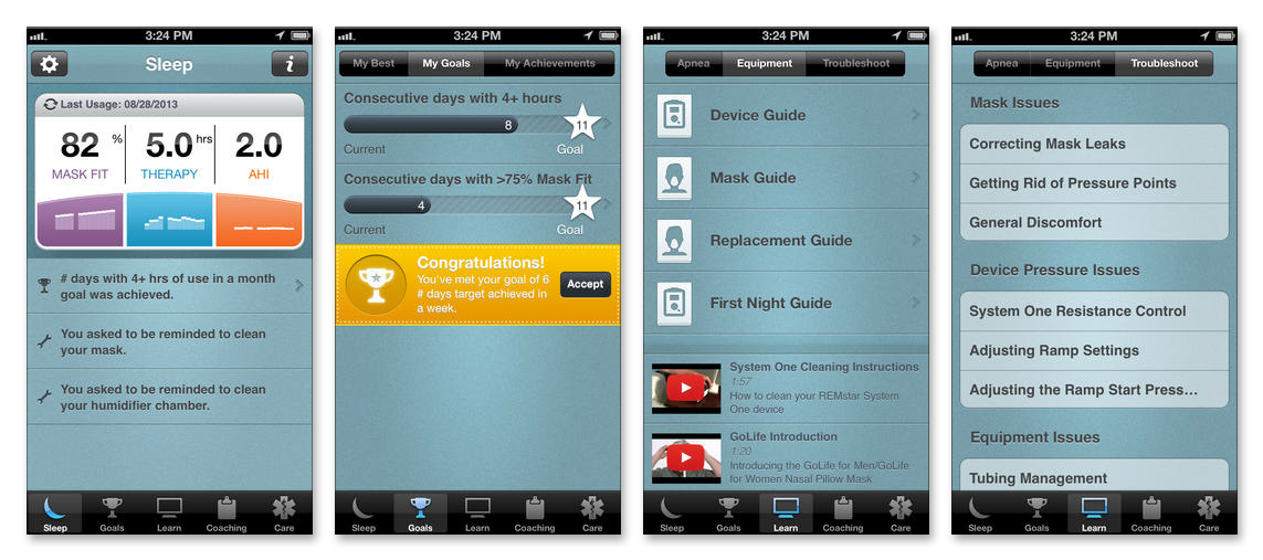 Sleepmapper Mobile Sleep Therapy App For Pr System One