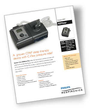 system one cpap specifications
