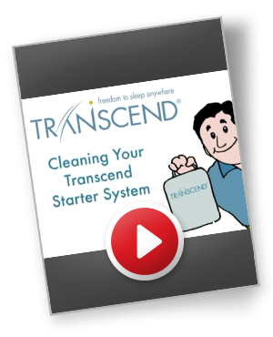 transcend ii cleaning guide