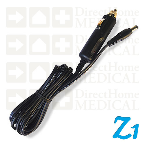 12V DC Mobile Adapter Power Cord for Z1 Series CPAP Machines