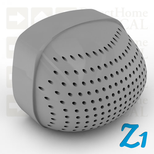 Gray Filter End Cap for Z1 Series CPAP Machines