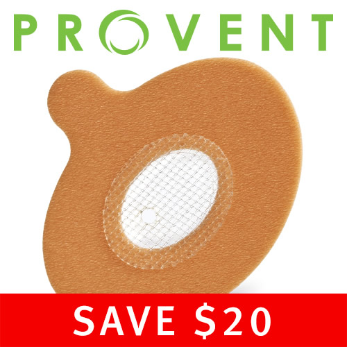 Provent Sleep Apnea Therapy -  90 Night Supply